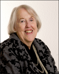 Mary W. Guenzel, founder of El Tesoro Retreat Center and the Nuestra Senora de la Paz Foundation