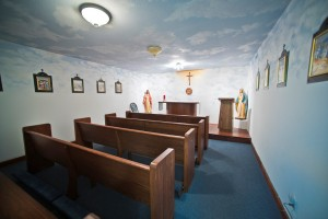 Sacred Heart Prayer Room –inside Annunciation Hall